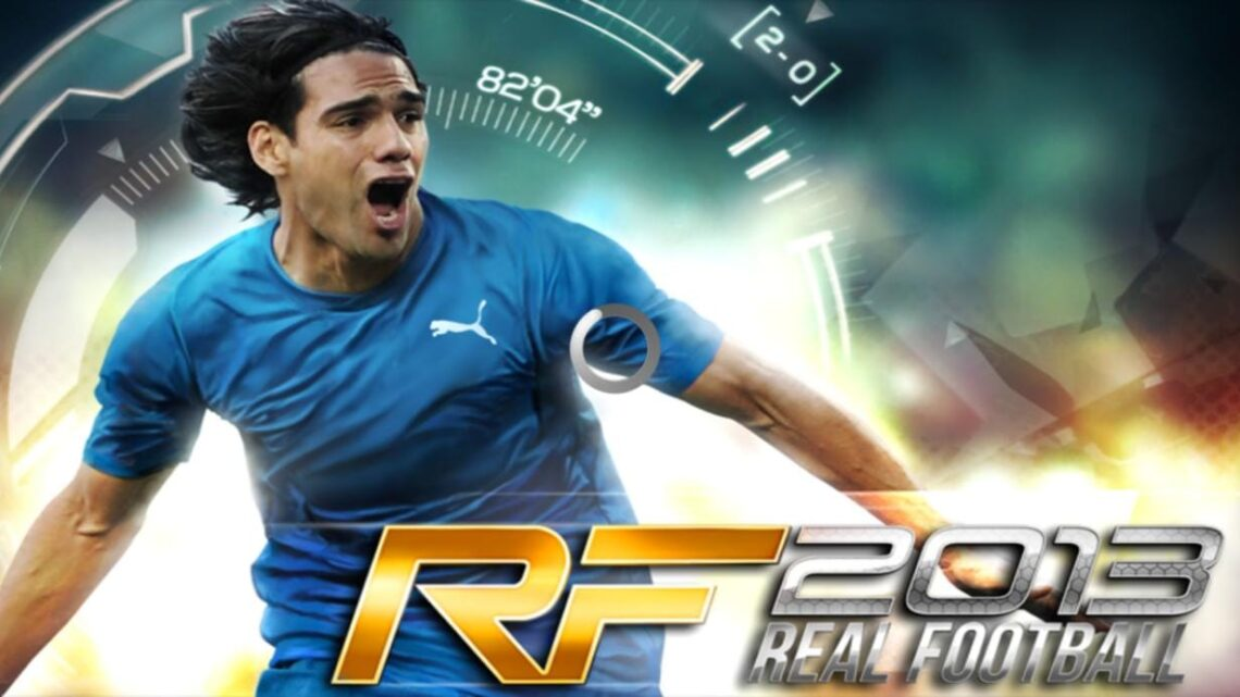 SAIU ! REAL FOOTBALL 2013 PARA ANDROID