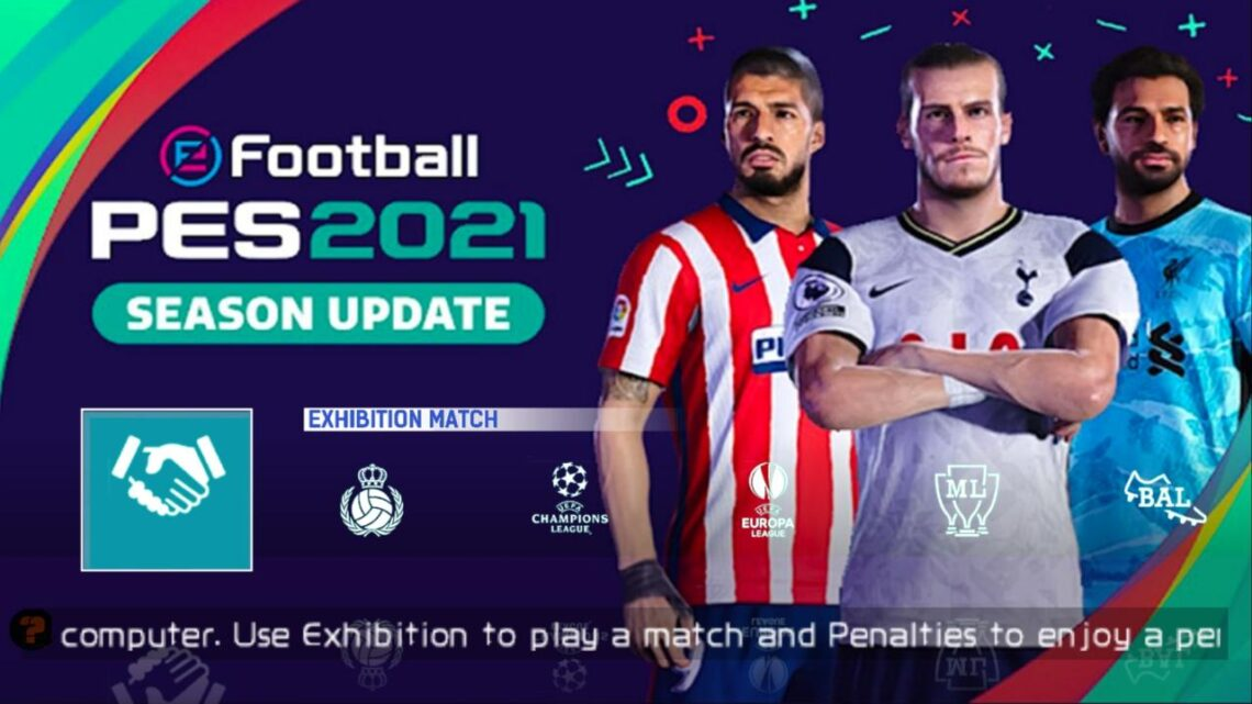 LANÇOU ! CHAMPIONS LEAGUE 2021 NO PES PARA ANDROID